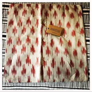 West Elm Ikat Print Pillow Cover